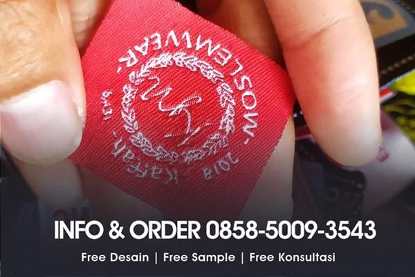 Contoh Label Baju Butik